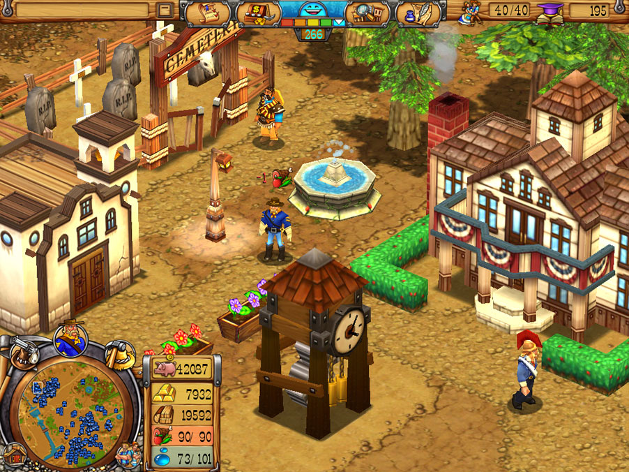Westward III - Gold Rush screen shot