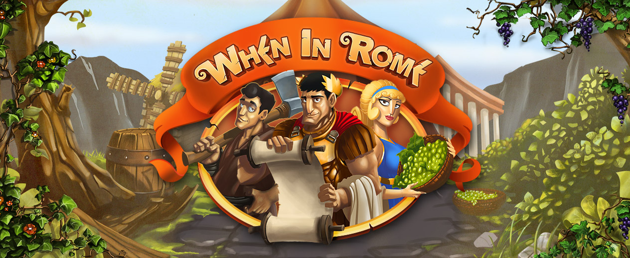 When in Rome - Help a Roman soldier fulfill his dreams!