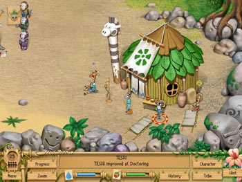 Wild Tribe screen shot