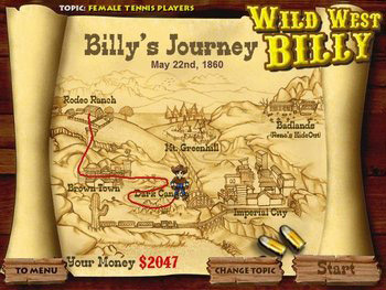 Wild West Billy screen shot