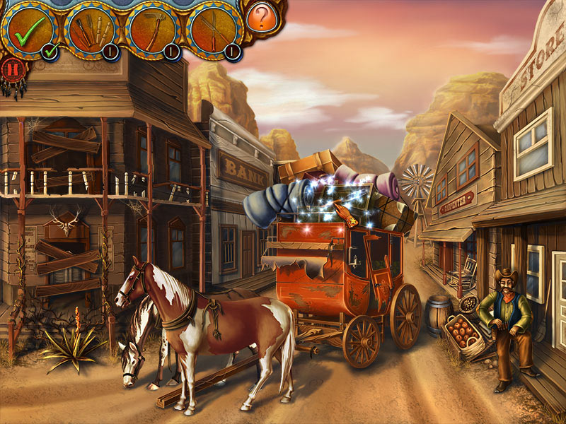 Wild West Story: The Beginnings screen shot