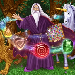 Wizard Land - Wizard Land is a fascinating and unique match 3 game in a fairytale world! - logo