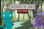 Defeat an army of skeletons and a sorceror in Wonderland Solitaire, a fun card game that's a bit different from the rest!