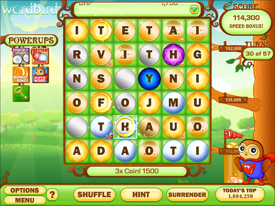Word Bird Supreme screen shot
