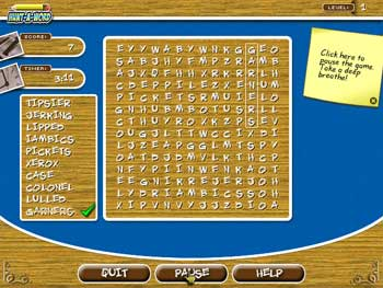 Word Challenge Extreme screen shot
