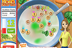 Screenshot of Word Krispies