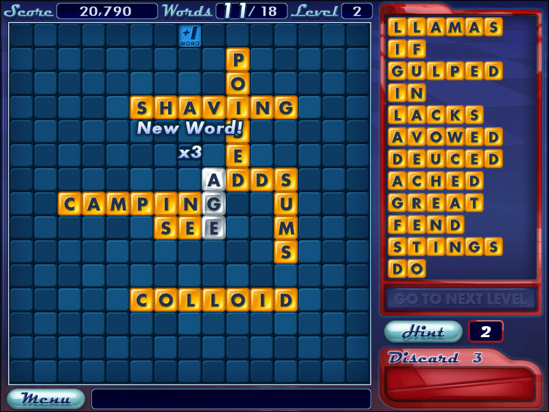 Word Slinger screen shot