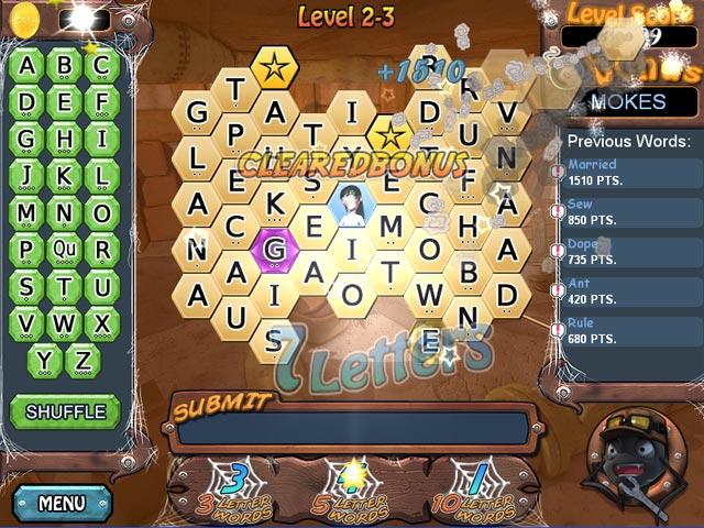 Word Web Deluxe screen shot
