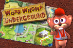 Help wacky gophers win, one word at a time, in Word Whomp Underground!