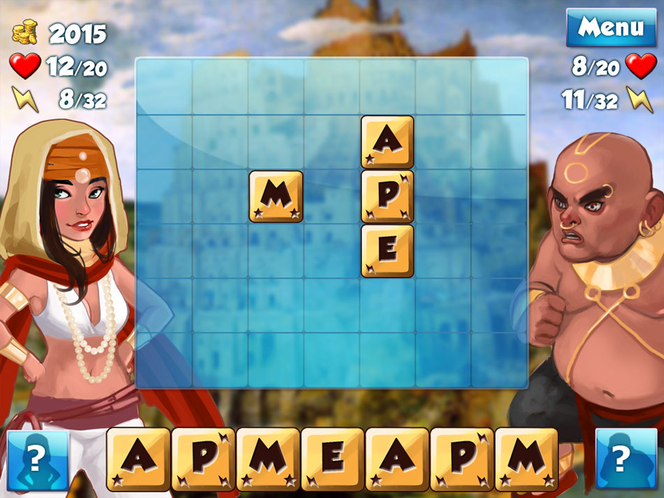 Word Wonders: The Tower of Babel screen shot