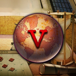 World Mosaics 5 - Graduate to become a chronologist in World Mosaics 5, a fun and exciting puzzle game! Learn about the history behind world holidays. - logo