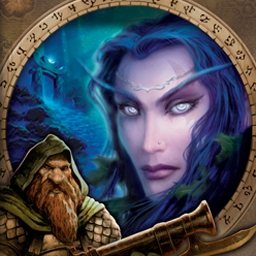 World of Warcraft - Enter the World of Warcraft FREE for 10 days - a special extended trial! - logo