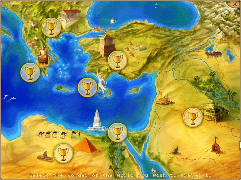 World Riddles 2: Seven Wonders screen shot