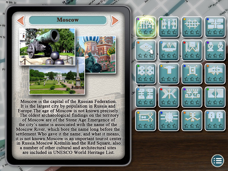 World's Greatest Cities Mahjong screen shot