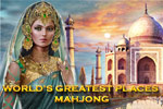 In World's Greatest Places Mahjong, remove tiles in 240 different layouts while visiting the Roman Colosseum, the Taj Mahal, and other sites.