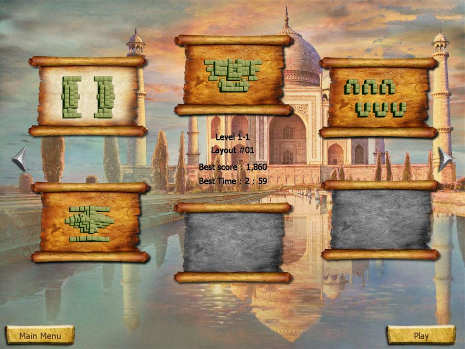 World's Greatest Places Mahjong screen shot