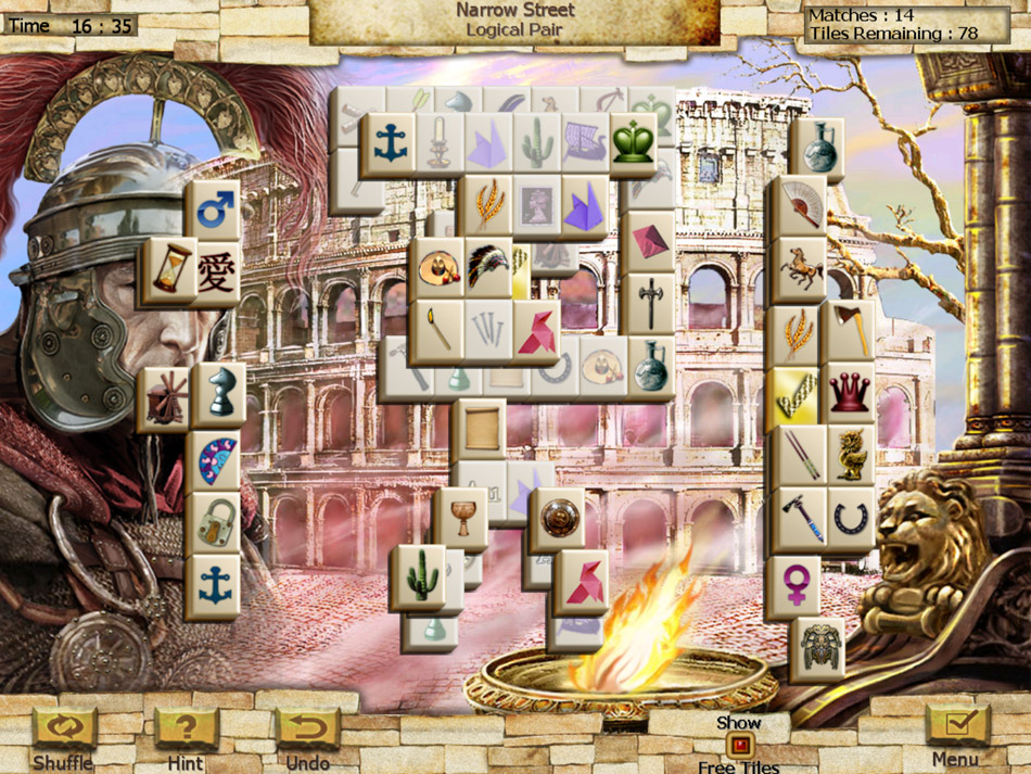 World's Greatest Places Mahjong screen shot