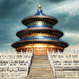 World's Greatest Temples Mahjong - Travel the globe and visit beautiful locations in World's Greatest Temples Mahjong.  Put your mahjong skills to the test! - logo