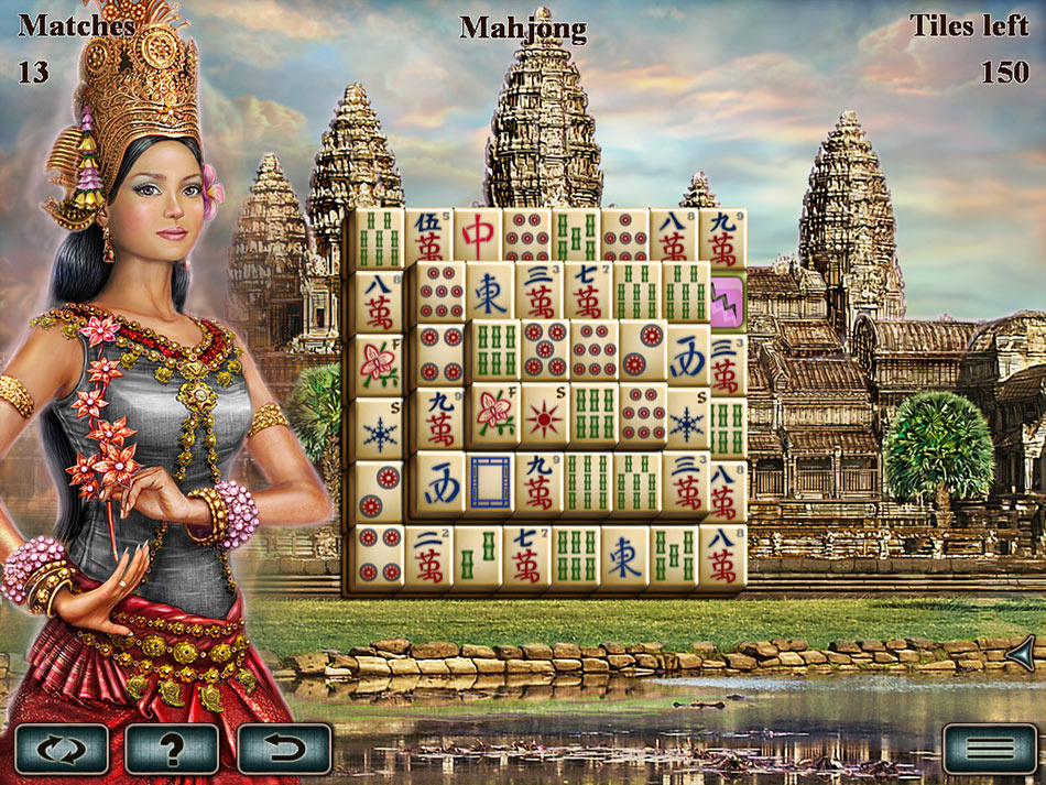 World's Greatest Temples Mahjong screen shot
