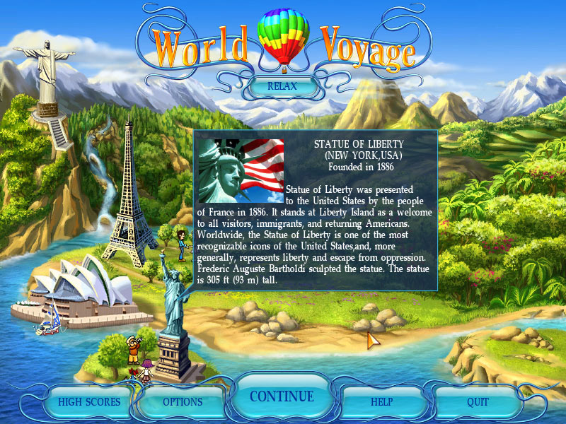 World Voyage screen shot