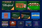 Screenshot of WorldWinner Games