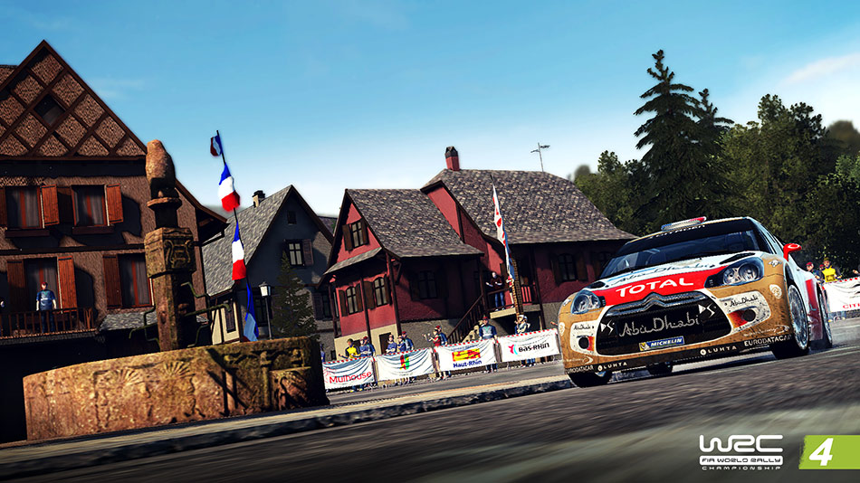 WRC 4 screen shot