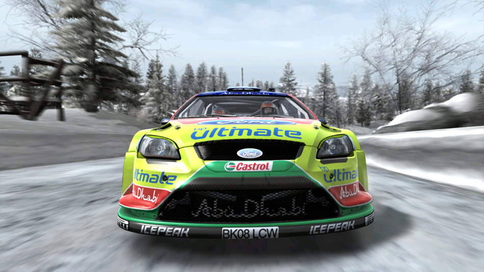 WRC FIA World Rally Championship screen shot