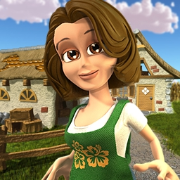Youda Farmer 2 Online - An evil real estate developer has destroyed almost everything, so now is your chance to rebuild it all in Youda Farmer 2: Save the Village! - logo