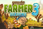 Youda Farmer 3: Seasons is a fun time management game with 8 new farms. Put your skills to the test with bugs, cold, storms, and more!