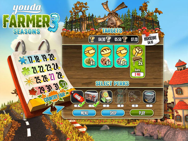 Youda Farmer 3: Seasons screen shot