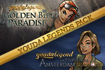 Get the two popular, Youda Legend hidden object games, The Curse of the Amsterdam Diamond and The Golden Bird of Paradise, for the price of one!