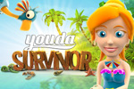 Fight off pirates and protect an entire tribe in Youda Survivor Online!