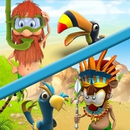 Youda Survivor Pack - Fight off pirates, survive and protect an entire tribe in this epic adventure! Play Youda Survivor Pack today! - logo