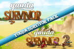 Fight off pirates, survive and protect an entire tribe in this epic adventure! Play Youda Survivor Pack today!