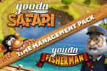 Enjoy Youda Fisherman AND Youda Safari together in one download. Get the Youda Time Management Pack today!