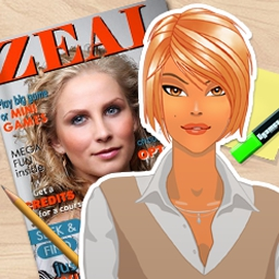 Zeal - In Zeal, help the new Jr. Content Editor find mistakes on each page of the magazine in level after level of hidden object fun! - logo
