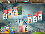 Screenshot of Zombie Solitaire