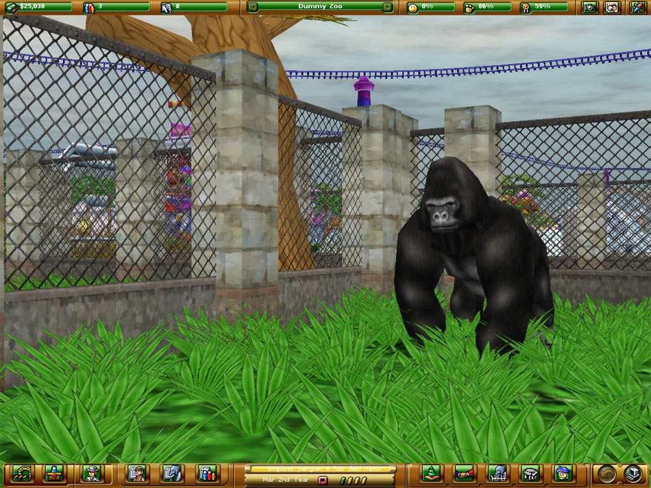 Zoo Empire screen shot