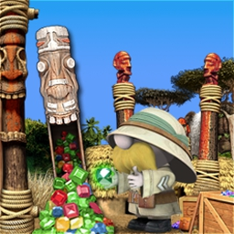Zulu Gems - Travel into an African jungle with 61 levels to explore! - logo