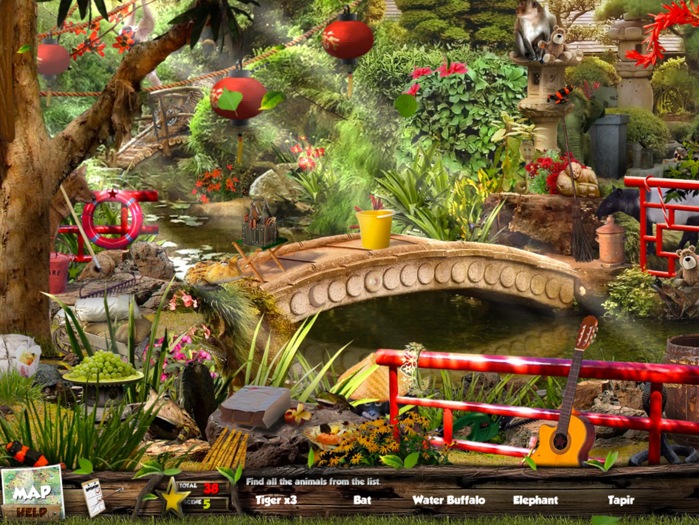 Screen Zoo Animal Games