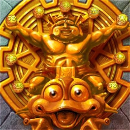 Zuma Deluxe - Take control of the stone frog idol that sits and spits in Zuma! - logo