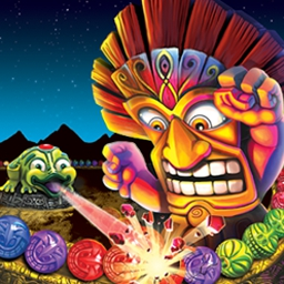 Zuma's Revenge - Fire spheres to make matches and beat the tiki bosses in Zuma's Revenge! - logo