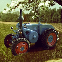 Agricultural Simulator: Historical Farming - The game takes you to the good old days and you will experience the charming farming of the 60's and 70's. - logo