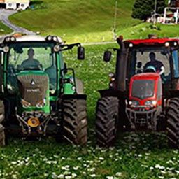 Agricultural Simulator 2012: Deluxe Edition - An idyllic grange surrounded by invitingly untouched mountain panoramas and unworked fields are awaiting. - logo