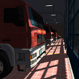 Airport Fire Department - The Simulation - As a member of the airport fire department, you and your team extinguish massive aircraft fires and beat a path through the flickering flames. - logo