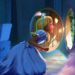 Alice: Behind the Mirror - The terrible Jabberwocky has turned Wonderland upside down! Save this crazy place in the hidden object game Alice: Behind the Mirror. - logo