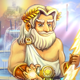 All My Gods - All My Gods is a time management game set amongst the Roman pantheon. Lead Saturn's son to glory and use his divine powers for good! - logo