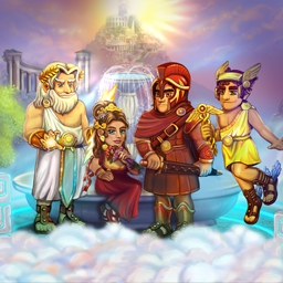 All My Gods Online - Lead Saturn's son to the top of the Pantheon and help him become a mighty god! Play All My Gods online today! - logo