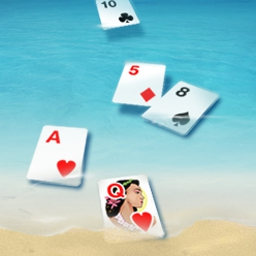 Aloha Solitaire - Relax on the beach with classic cards and mahjong in Aloha Solitaire! - logo