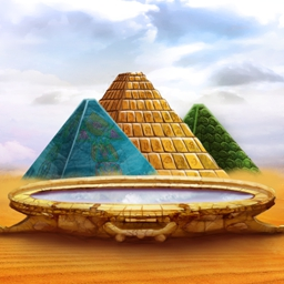 Amazing Pyramids - Can you piece together an ancient mystery and save the day? Find out in Amazing Pyramids! - logo